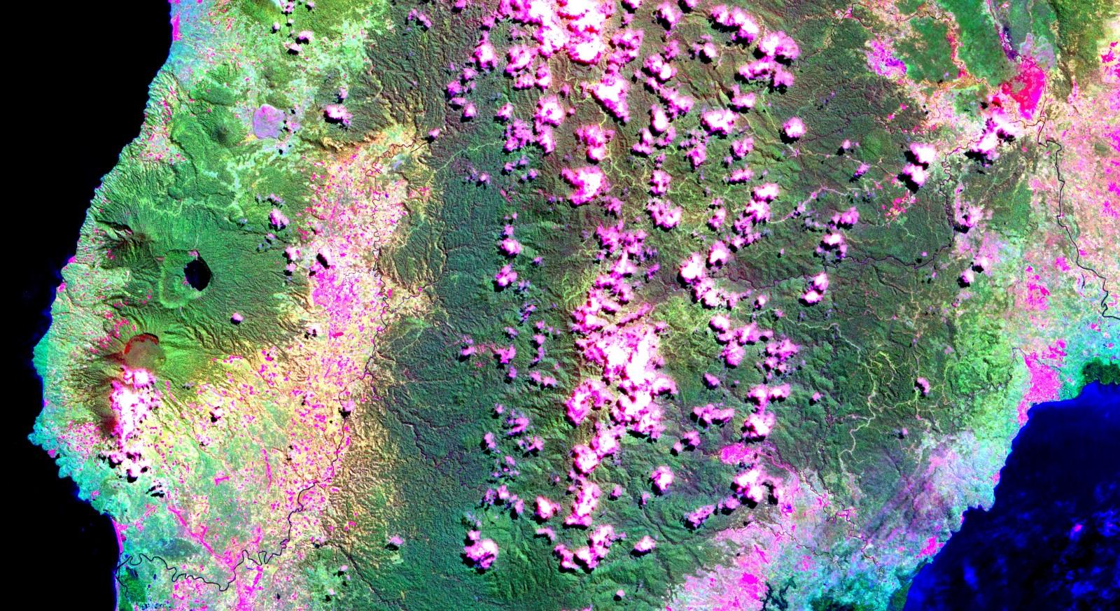 Analisi di immagini satellitari di campi geotermici