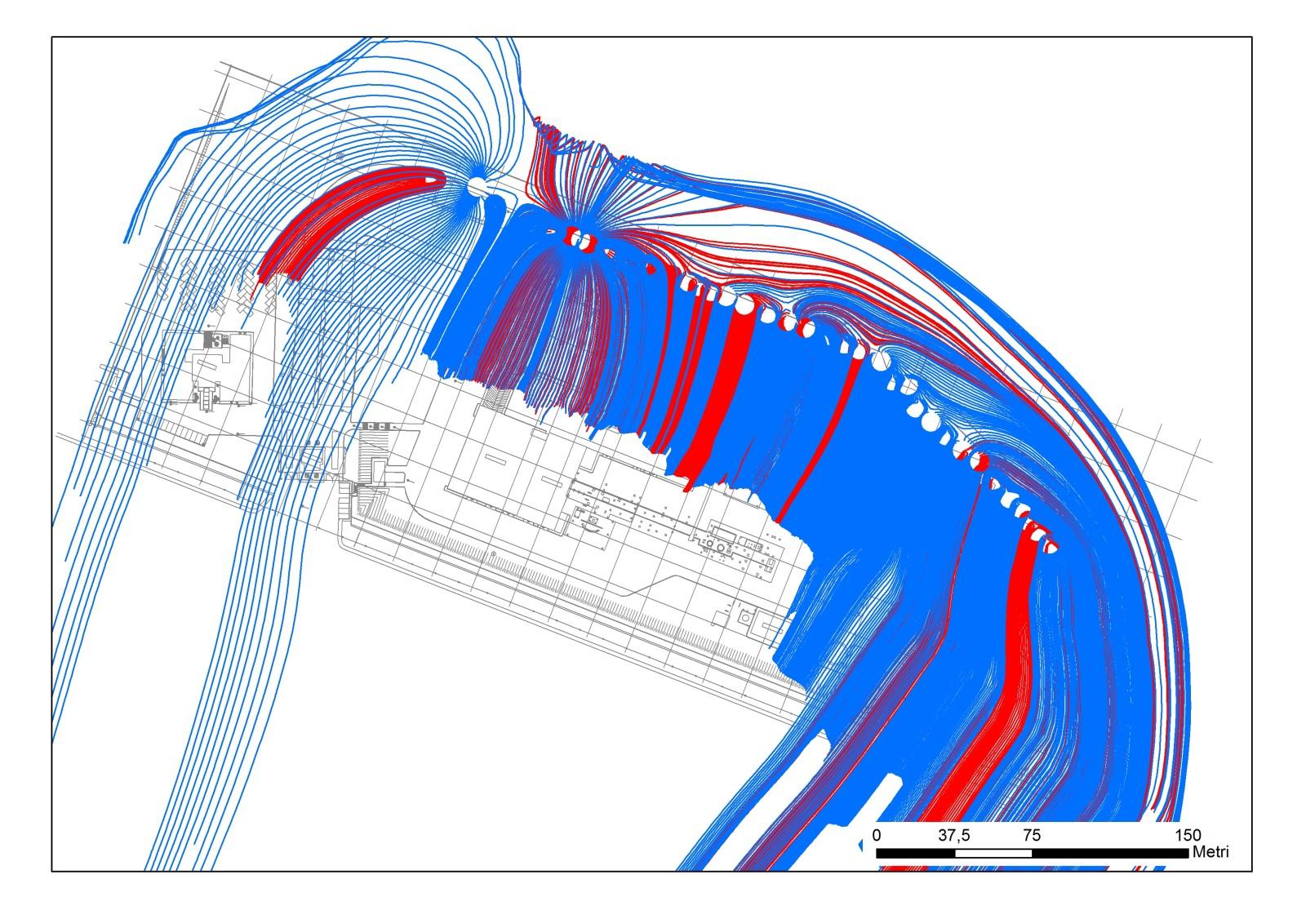 Simulazione di una barriera di pozzi in sito inquinato