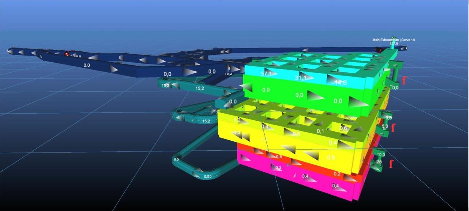 Modello numerico della ventilazione di una cava in sotterraneo