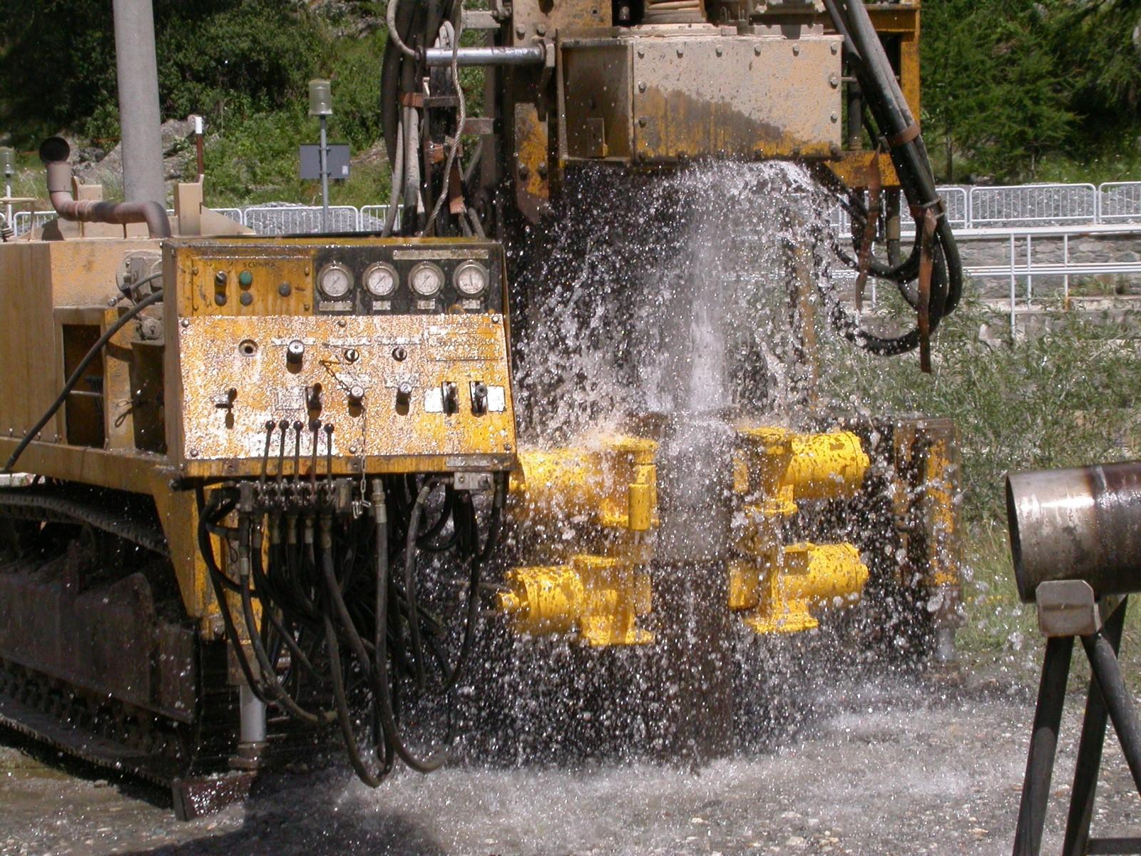 Reperimento di risorsa idrica sotterranea